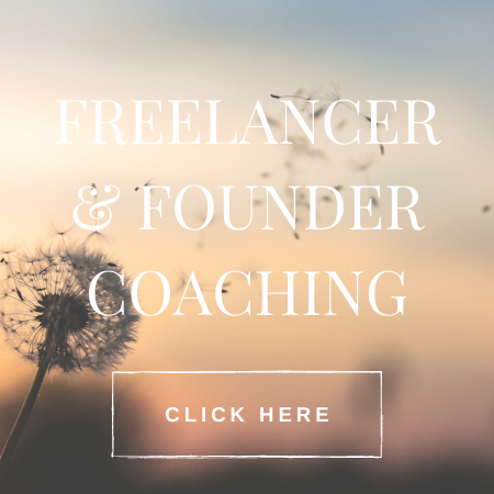 freelancer and founder coaching