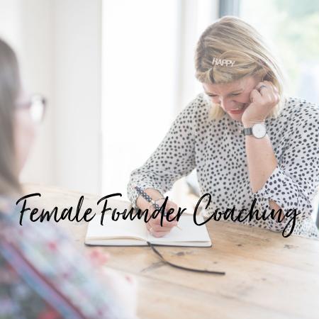 female founder coaching