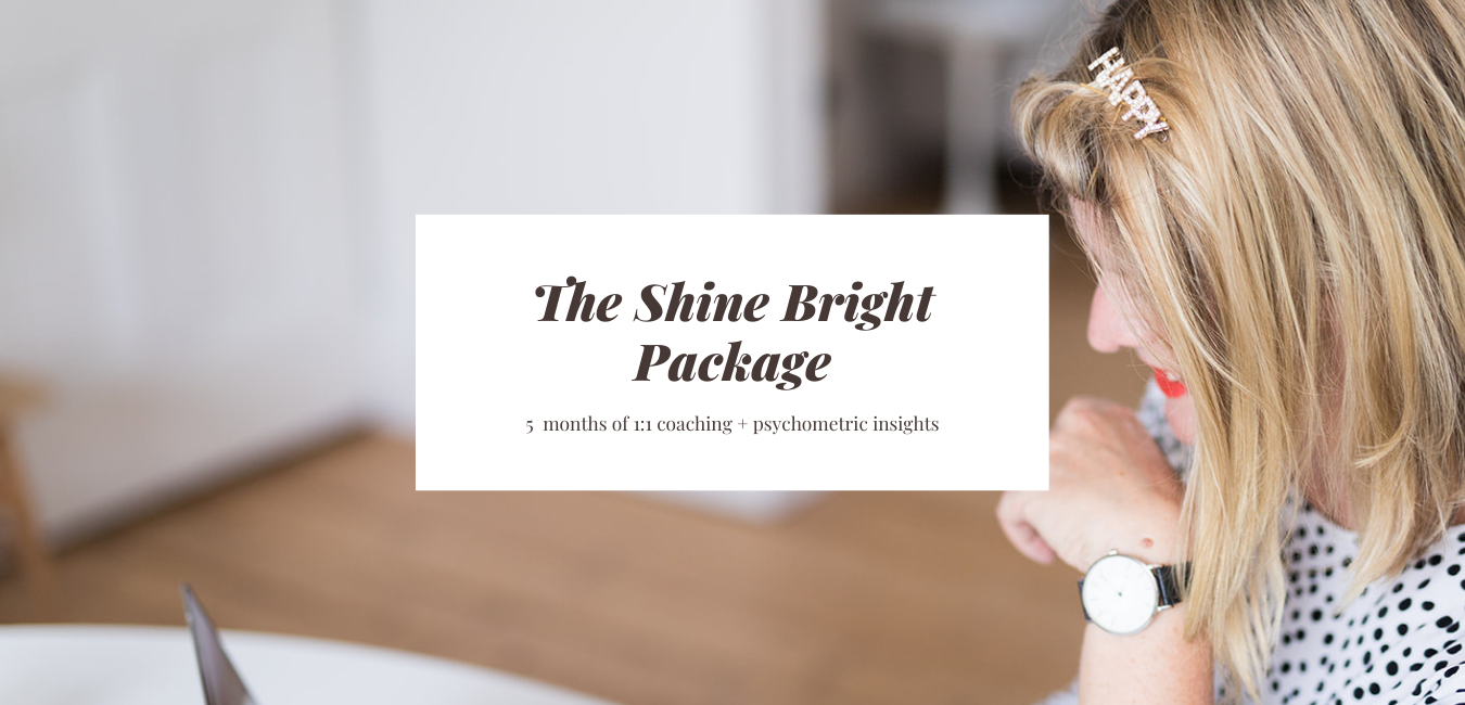 The Shine Bright Package