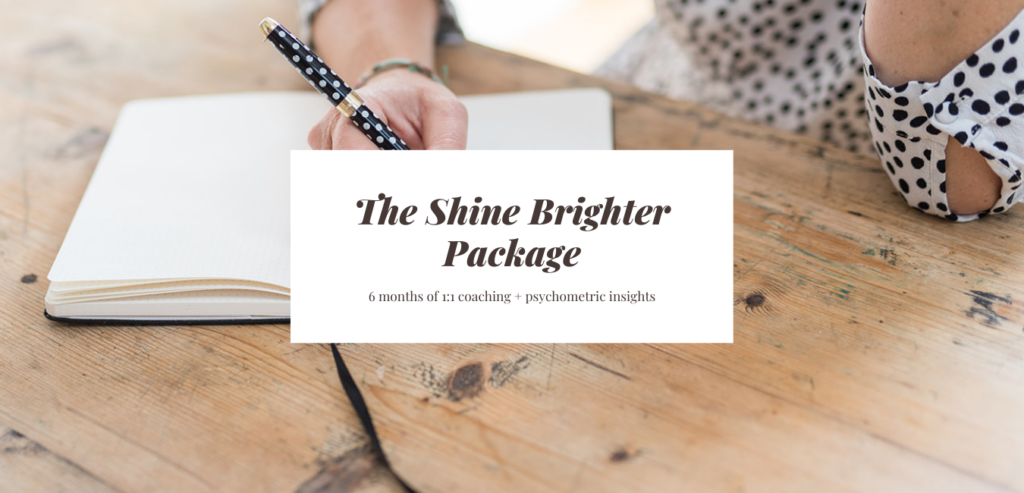 The Shine Brighter Package
