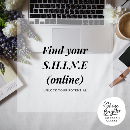 FIND YOUR SHINE ONLINE WSC